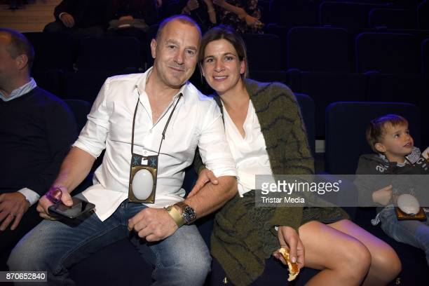Heino Ferch and his wife MarieJeanette Ferch during the world premiere of the horse show 'EQUILA' at Apassionata Showpalast Muenchen on November 5...