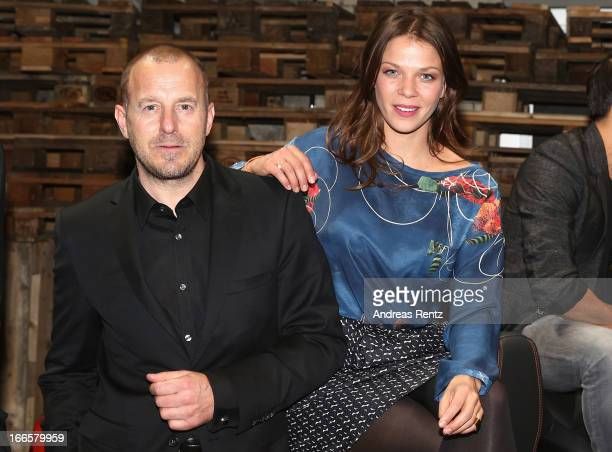 Heino Ferch and Jessica Schwarz attend the Jaguar FType short film 'The Key' Premiere at eWerk on April 13 2013 in Berlin Germany