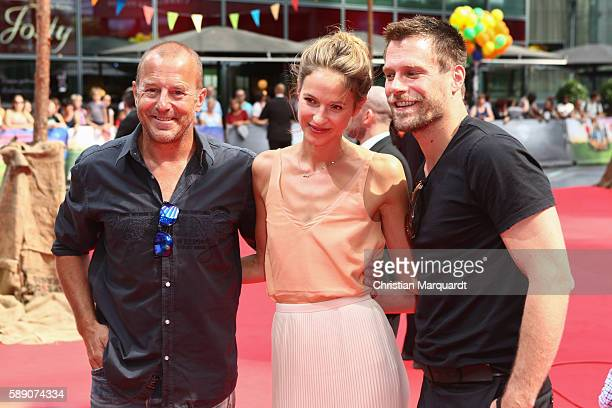 Heino Ferch Ken Duken and Lisa Bitter attend ConniCo World Premiere at Cinestar Potsdamer Platz on August 13 2016 in Berlin Germany
