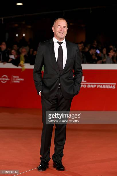 Heino Ferch walks a red carpet for 'Fritz Lang' during the 11th Rome Film Festival at Auditorium Parco Della Musica on October 20 2016 in Rome Italy