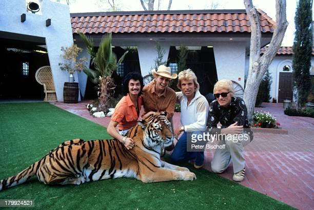 Heino mit Ehefrau Hannelore Kramm Siegfried Roy Homestory DschungelPalast Las Vegas/Nevada/USA Besuch bei Siegfried Roy Homestory Tiger Tier...