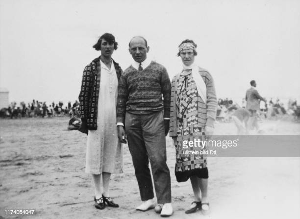 Heinrich Gretler with sister Martha and his wife Marion