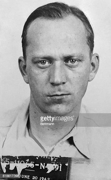 Heinrich Harm Heinck of Hamburg apprehended yesterday in New York City is one of eight master spies trained in sabotage by the Nazi High Command who...