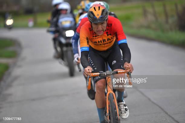 Heinrich Haussler of Australia and Team Bahrain - McLaren / during the 75th Omloop Het Nieuwsblad 2020, Men Race a 200km race from Ghent to Ninove /...