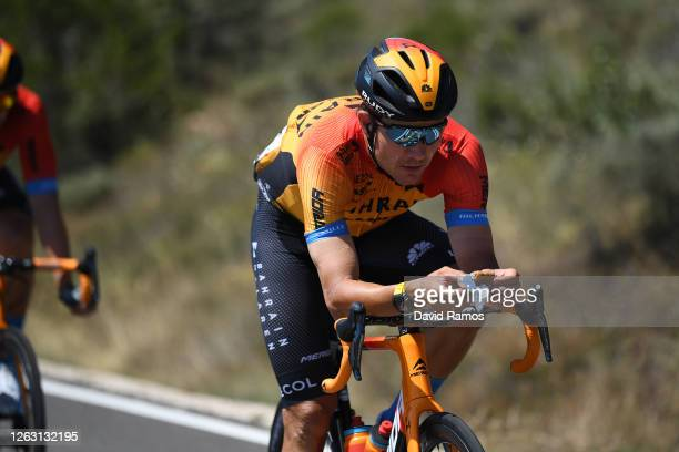 Heinrich Haussler of Australia and Team Bahrain McLaren / during the 42nd Vuelta a Burgos 2020, Stage 5 a 158km stage from Covarrubias to Lagunas de...