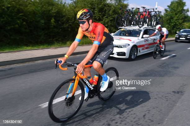 Heinrich Haussler of Australia and Team Bahrain - Mclaren / during the 77th Tour of Poland 2020, Stage 2 a 151,5km stage from Opole to Zabrze /...