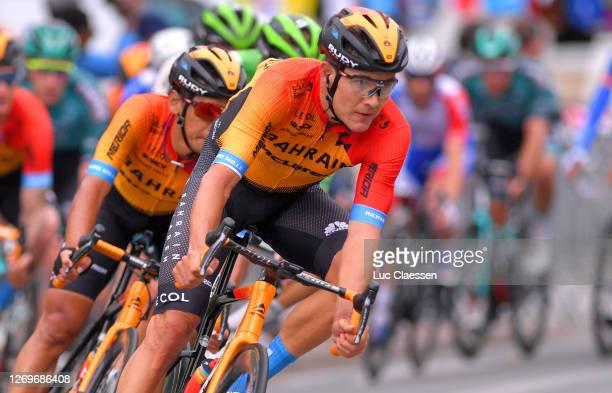 Heinrich Haussler of Australia and Team Bahrain - Mclaren / during the 33rd Tour Poitou-Charentes en Nouvelle Aquitaine 2020, Stage 4 a 164,6km stage...