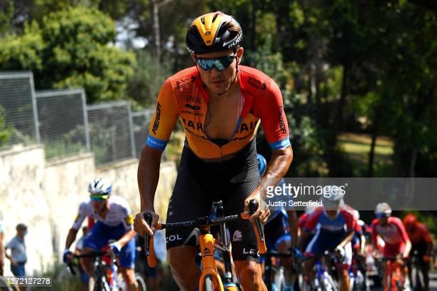 Heinrich Haussler of Australia and Team Bahrain Mclaren / during the 55th Tirreno-Adriatico 2020, Stage 6 a 171km stage from Castelfidardo to...