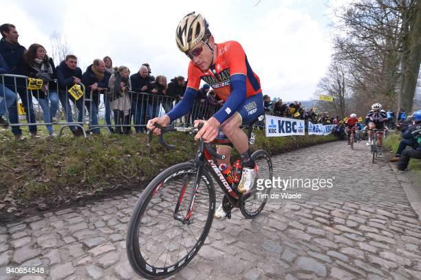 Heinrich Haussler of Australia and Team Bahrain Merida / Koppenberg / Cobbles / during the 102nd Tour of Flanders 2018 - Ronde Van Vlaanderen a...