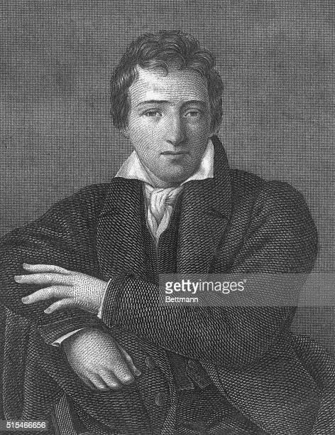 Heinrich Heine German poet and critic Undated engraving
