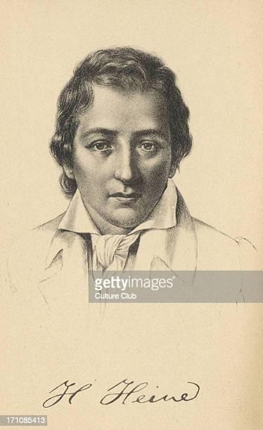 Heinrich Heine German Poet writer 17971856