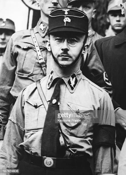 Heinrich Himmler Gestapo Chief At Munich In Germany On April 3Rd 1933