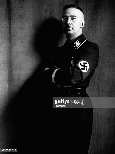 Heinrich Himmler the leader of the Gestapo and the SS Nazi Germany's secret police forces He was the chief architect of Germany's genocidal policy of...