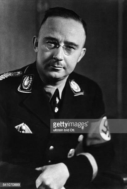 Heinrich Himmler*-+Politiker, NSDAP, D- veröffentlicht Januar 1937