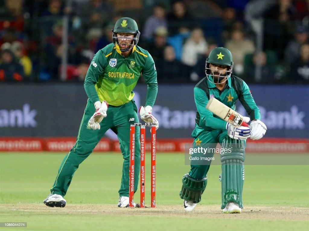 South Africa v Pakistan - 1st Momentum One Day International : News Photo