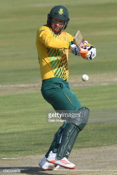 Heinrich Klaasen of the Proteas during the 3rd Betway ODI between South Africa and Pakistan at SuperSport Park on April 16, 2021 in Pretoria, South...