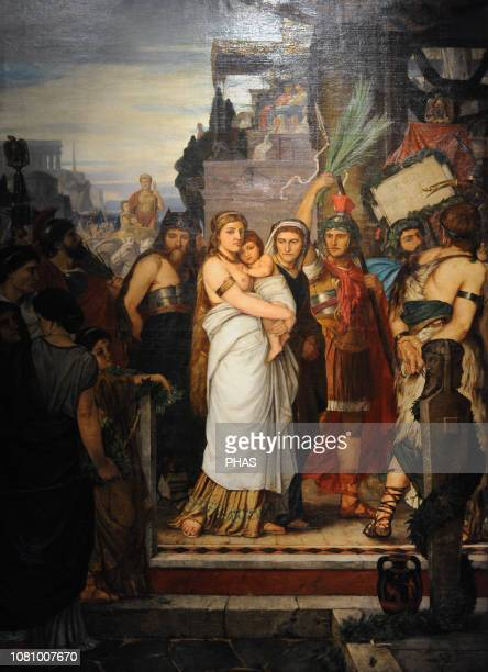 Heinrich Ludwig Philippi German painter Thusnelda and the triumphal Procession of Germanicus 1867 WallrafRichartz Museum Cologne Germany