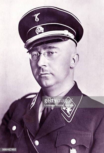 Heinrich Luitpold Himmler was Reichsführer of the Schutzstaffel a military commander and a leading member of the Nazi Party of Nazi Germany