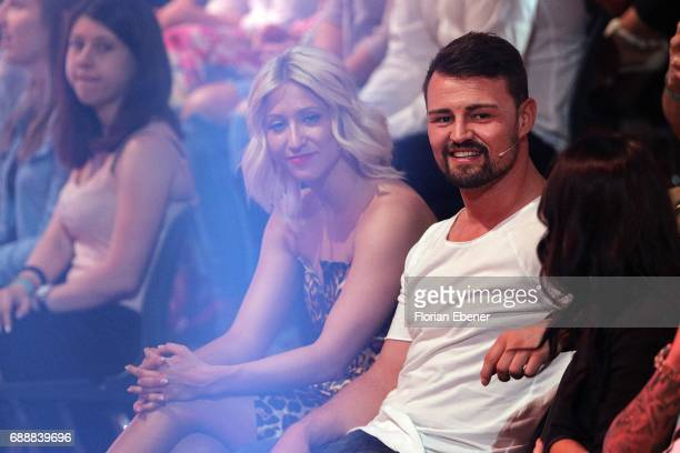 Heinrich Popow and Kathrin Menzinger during the 10th show of the tenth season of the television competition 'Let's Dance' on May 26 2017 in Cologne...