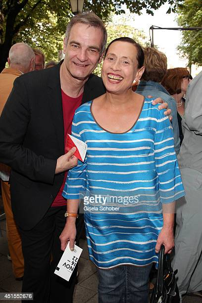 Heinrich Schafmeister and his wife Jutta attend the 'Fuer immer ein Moerder - Der Fall Ritter' Premiere as part of Filmfest Muenchen at Rio...