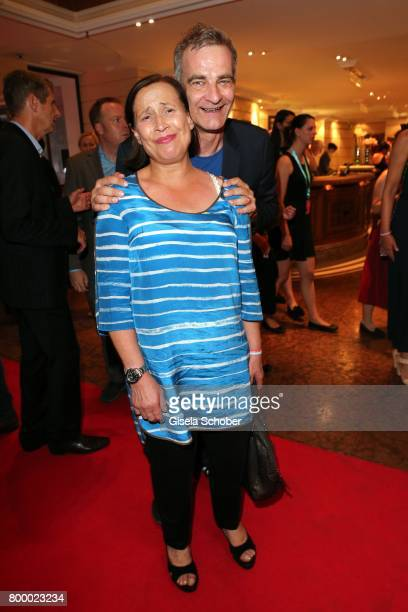 Heinrich Schafmeister and his wife Jutta Schafmeister during the opening night party of the Munich Film Festival 2017 at Hotel Bayerischer Hof on...