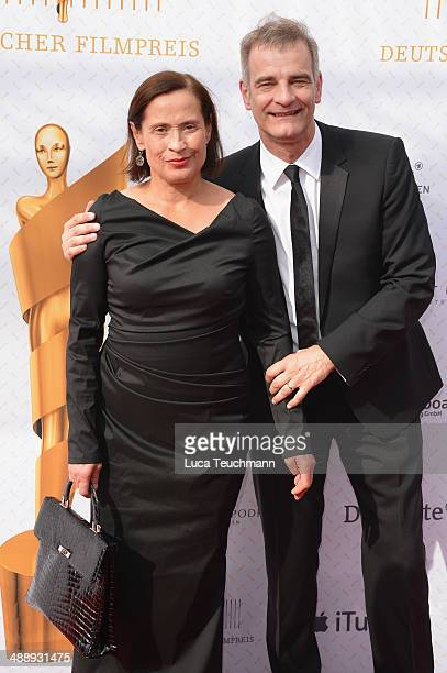 Heinrich Schafmeister and Jutta Schafmeister attend the Lola - German Film Award 2014 at Tempodrom on May 9, 2014 in Berlin, Germany