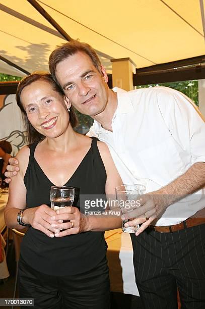 Heinrich Schafmeister And wife Jutta When receiving Zdf In Des Film Festival in Munich on 180706.