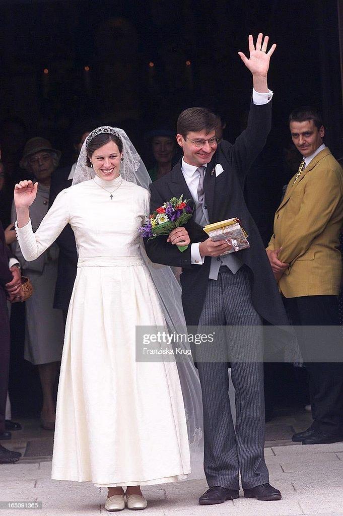 Heinrich Von Hannover Heiratet Thyra Von Westernhagen : News Photo