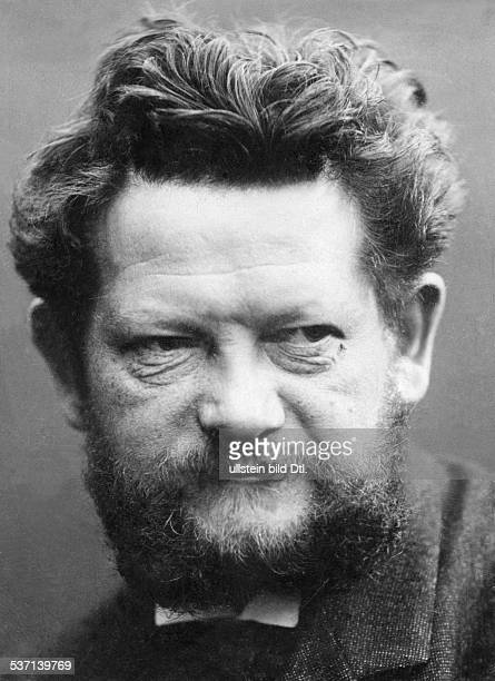 Heinrich Zille Bildender Künstler Zeichner Fotograf D Porträt 1904 Foto Becker Maaß