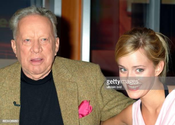 Heinz Baumann * Schauspieler D mit Tochter Judith Richter