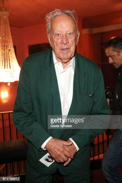 Heinz Baumann Soko 5113 attends the 'Mirandolina' premiere at Komoedie Bayerischer Hof on June 13 2018 in Munich Germany