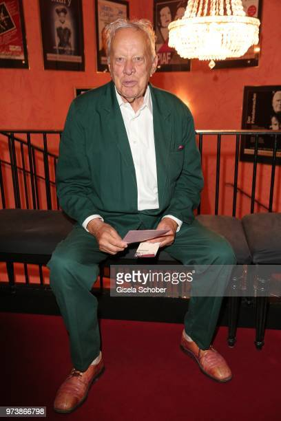 Heinz Baumann Soko 5113 during the 'Mirandolina' premiere at Komoedie Bayerischer Hof on June 13 2018 in Munich Germany