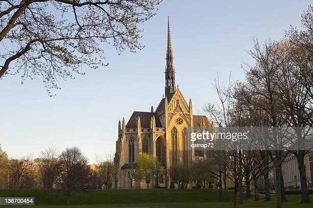Heinz Chapel At Dawn, Pittsburgh PA Landmark