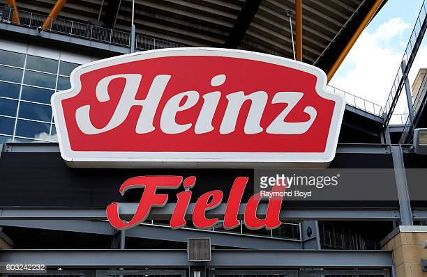 Heinz Field home of the Pittsburgh Steelers and Pittsburgh Panthers football teams in Pittsburgh Pennsylvania on August 26 2016
