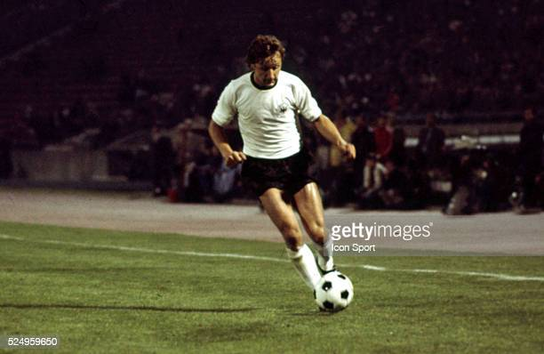Heinz Flohe of West Germany during the European Championship match between West Germany and Yugoslavia in Stadium Crvena Zvezda Belgrad Yugoslavia on...
