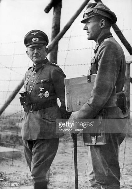 Heinz Guderian Is Called To The Headquarters Of The Fuehrer At The Time He Directed The Second Armoured Force Of The German Army In Russia And...
