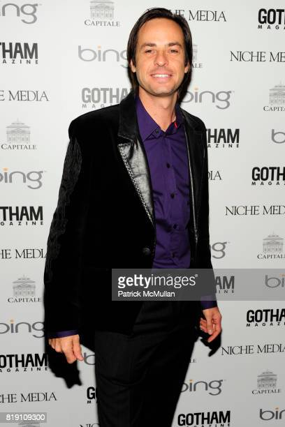 Heinz Haas attends ALICIA KEYS Hosts GOTHAM MAGAZINES Annual Gala Presented by BING at Capitale on March 15 2010 in New York City