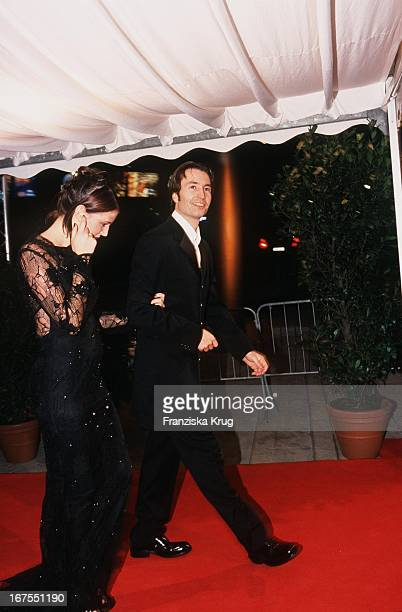 Heinz Harald Frentzen Ehefrau Tanja Bei Der Bambi Gala In Berlin Am 121199