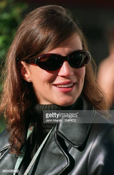 Heinz Harald Frentzen's girlfriend Tanja