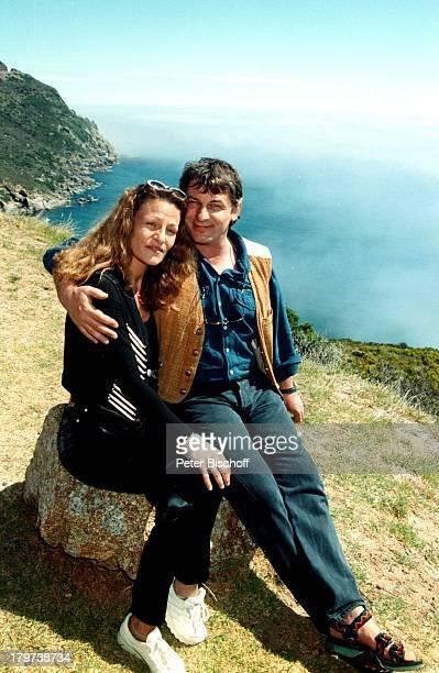 Heinz Hoenig mit Ehefrau Simone, Hout Bay bei Kapstadt, Südafrika, Afrika, Urlaub, Atlantischer Ozean, Atlantik, Meer, Schauspieler,