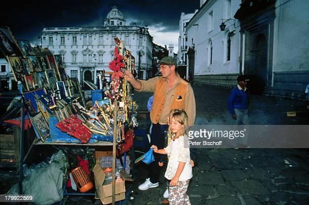 Heinz Hoenig Tochter Paula UrlaubQuito/Ecuador/Südamerika Mütze