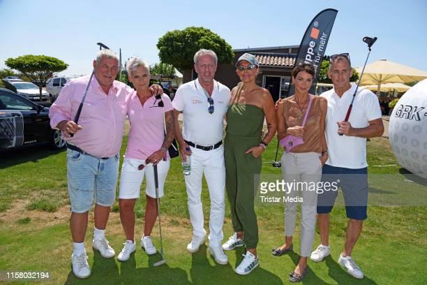 Heinz Hoenig with his wife Annika Kaersten, Steffen Goepel, Natascha Ochsenknecht, Gerit Kling and her husband Wolfram Becker during the 12th GRK...