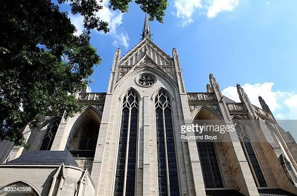 Heinz Memorial Chapel in Pittsburgh, Pennsylvania on August 26, 2016.
