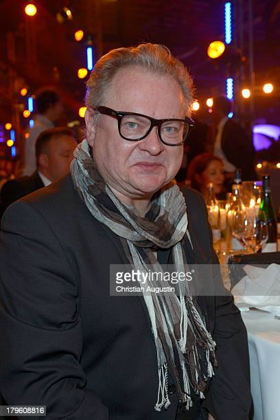 Heinz Rudolf Kunze attends 'Deutscher Radiopreis' at Schuppen 52 on September 5 2013 in Hamburg Germany
