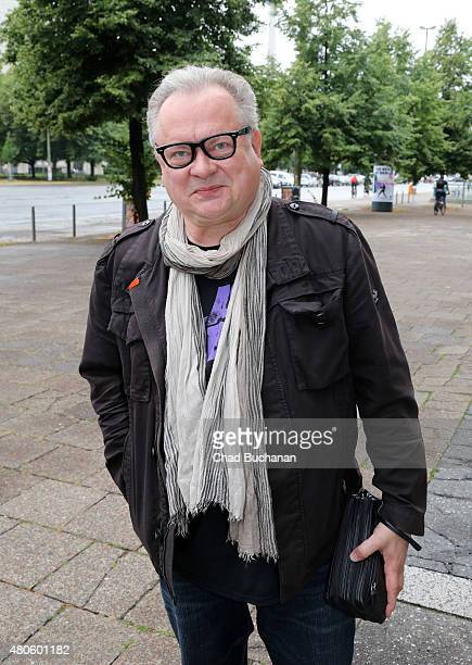 Heinz Rudolf Kunze attends the German premiere of the film 'Heil' at Kino International on July 13 2015 in Berlin Germany