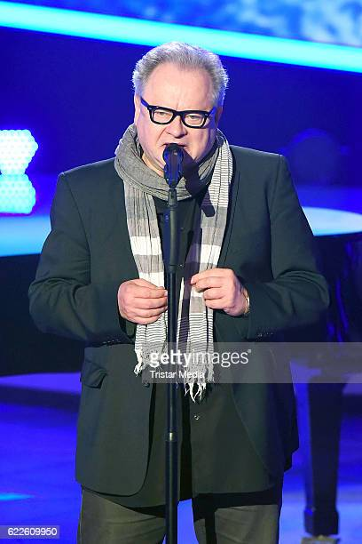 Heinz Rudolf Kunze during the 'Die Schlager des Jahres' on November 11 2016 in Suhl Germany