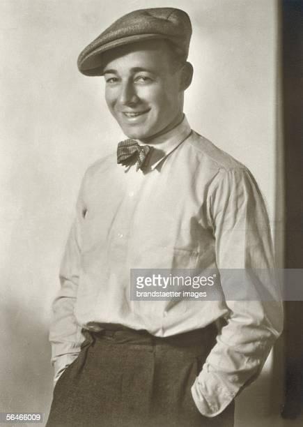 Heinz Ruehmann German actor Photography Um 1930 [Heinz Ruehmann deutscher Schauspieler Photographie Um 1930]