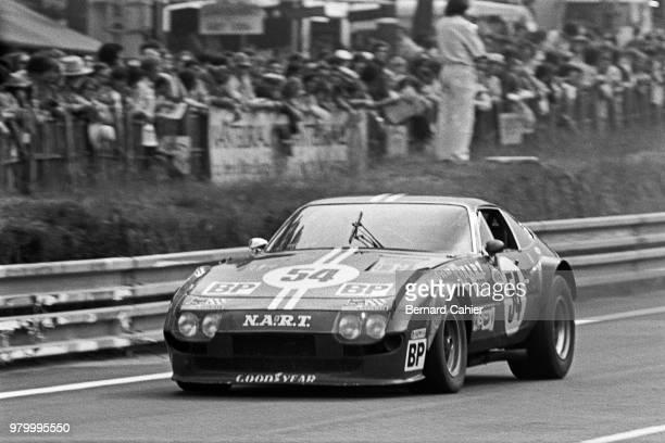 Heinz Schiller Ferrari 365 GTB/4 Daytona 24 Hours of Le Mans Le Mans 16 June 1974