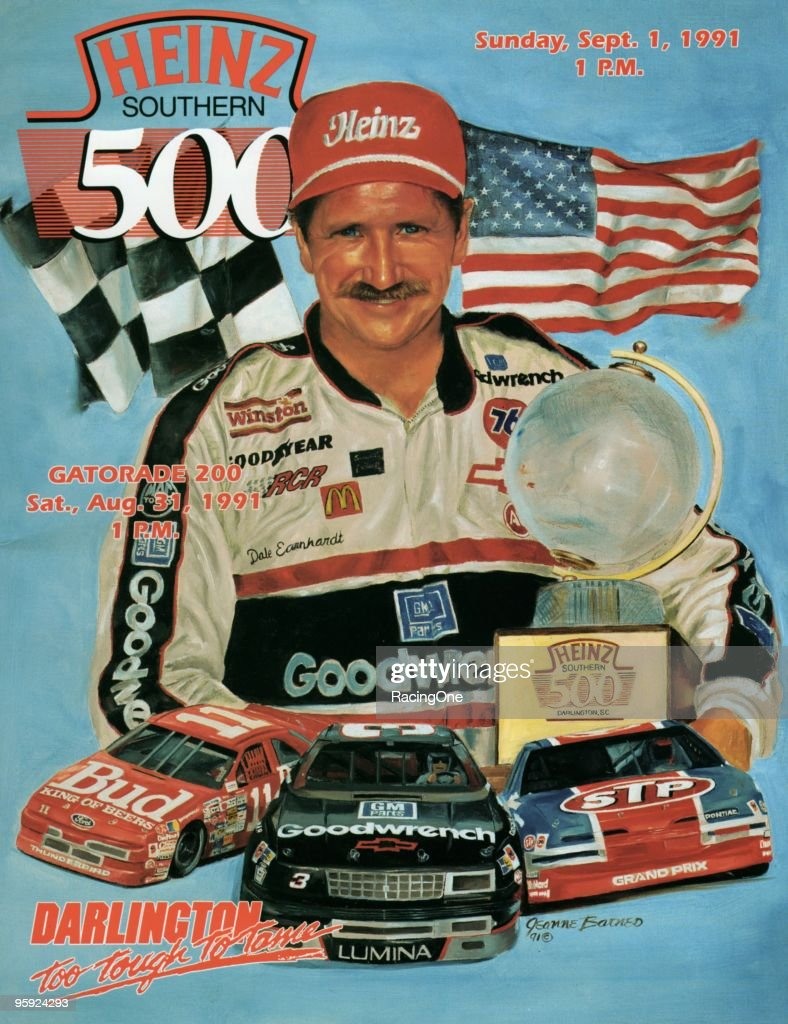 Heinz Southern 500 program cover from Darlington.