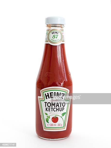 heinz tomato ketchup - tomato sauce stock pictures, royalty-free photos & images